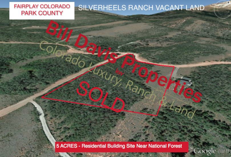 Silverheels Ranch – Residential Lot – SOLD